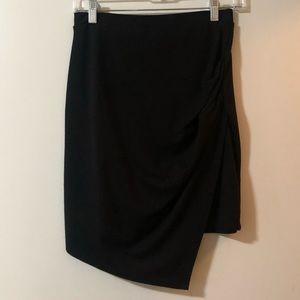 Dresses & Skirts - Asymmetric black skirt